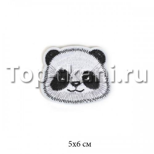 Термоаппликация - Панда (5х6см) - ЦЕНА ЗА 1 ШТ