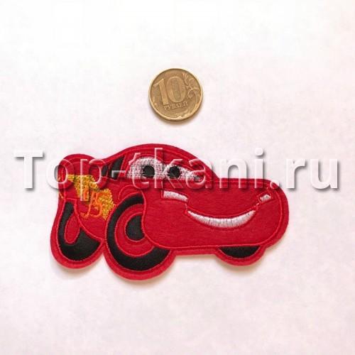 Термоаппликация Машинка красная (8*4 см)