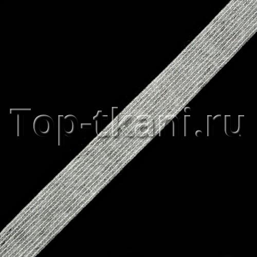 Лента Idealtex нитепрошивная клеевая белая 100 м (15 мм, рулон)