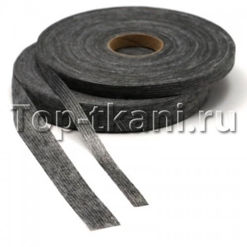 Лента Idealtex нитепрошивная клеевая серая 100 м (20 мм, рулон)