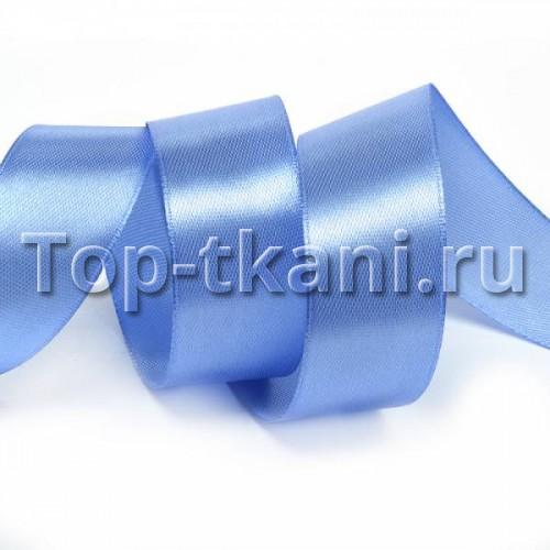 Лента атласная IDEAL - Голубая