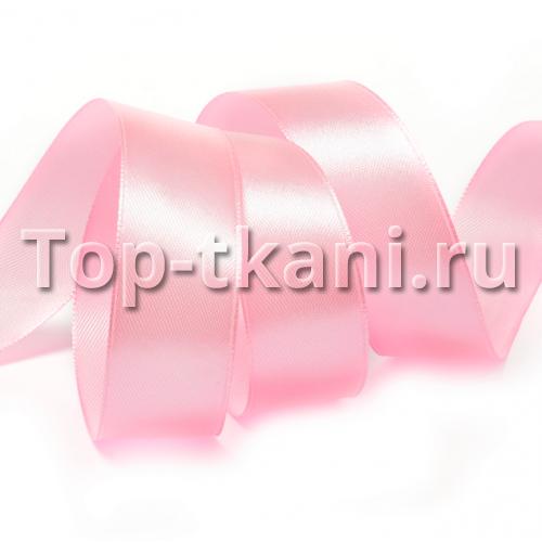 Лента атласная IDEAL - Светло-розовая