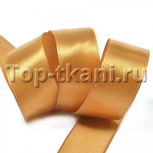 Лента атласная IDEAL - Темное золото