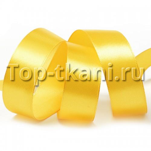 Лента атласная IDEAL - Гр.оранжевый (Желтый)