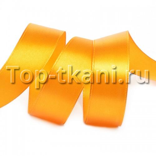 Лента атласная IDEAL -  Гр.оранжевый насыщенный