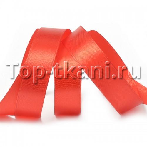 Лента атласная IDEAL - Красный