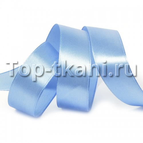 Лента атласная IDEAL - ярк.голубой