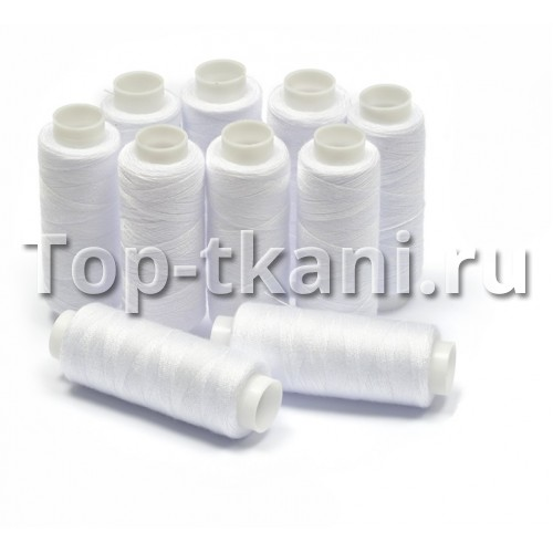 Нитки бытовые 40/2 - Белые