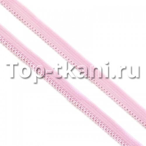 Резинка бельевая (ажурная) - Розовая (10 мм, цена за 1 метр)