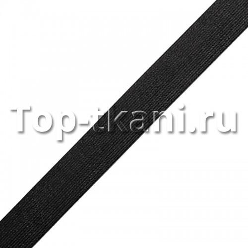 Резинка вязаная черная (30 мм, 1 метр)