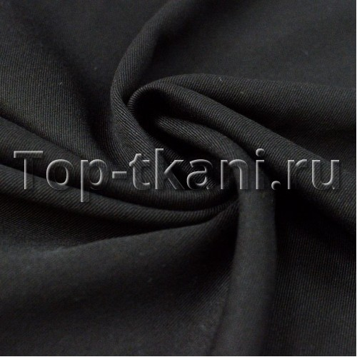 Лоскут Твил Черный (440 см * 100 см)