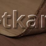 Атлас стрейч - Какао (Коричневый, без рисунка, ширина 150 см)