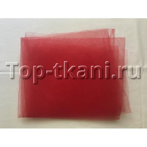 Фатин - Красный (лоскут 35х200)