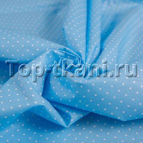 Лоскут Бязь набивная - Люпин (100 см * 20 см)