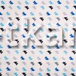 Бязь набивная - Собачки на белом (цвет белый, синий, серый, голубой, черный, ширина 150 см)