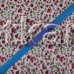 Лоскут Бязь плательная - Мильфлер (красный) 150 см * 90 см