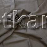 Лен костюмный - Серо-коричневый