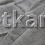 Лен сорочечный - Темно-серый