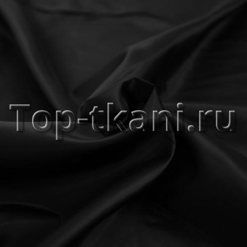 Подкладочная ткань - Таффета (черная)