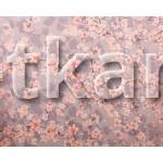 Поплин набивной - Цветение Сакуры (ширина 220 см)