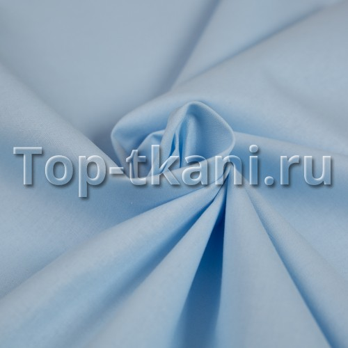 Поплин г/к (голубой) - Нежность