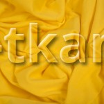 Рибана - Желтая (100 см чулок, в развороте = 200 см)