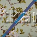 Лоскут Рогожка - Цветы (150 см * 150 см)
