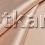Русский атлас стрейч матовый - Пудрово-персиковый (ширина 150 см)