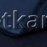 Русский атлас стрейч матовый - Синий индиго (ширина 150 см)