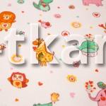 Лоскут Ситец детский набивной - Зоопарк (300 см * 95 см)