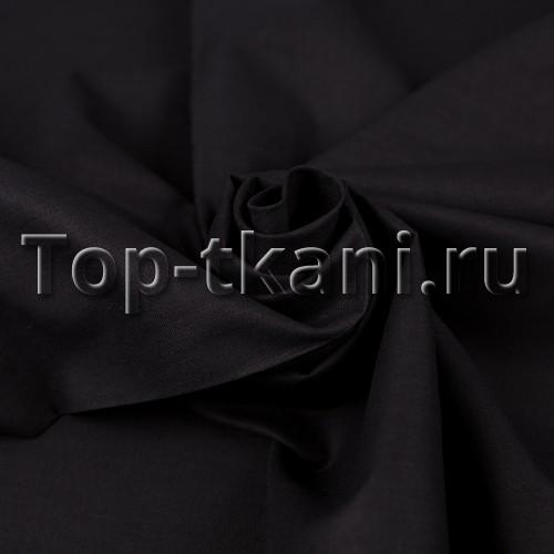 Ситец г/к - Черный (Ширина 80 см)