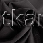 Ситец (ВНИМАНИЕ!!! ТКАНЬ КАК МАРЛЕВКА, НЕ ПЛОТНАЯ, ПОЛУПРОЗРАЧНАЯ) г/к разреженный (Черный) - Черная ночь (ширина 80 см)