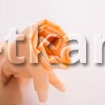 Ситец (ВНИМАНИЕ!!! ТКАНЬ КАК МАРЛЕВКА, НЕ ПЛОТНАЯ, ПОЛУПРОЗРАЧНАЯ) г/к разреженный (Персиковый) - Персик (ширина 80 см)