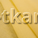 Лоскут Ситец - Желтая слива (100 см * 80 см) -  (ВНИМАНИЕ!!! ТКАНЬ КАК МАРЛЕВКА, НЕ ПЛОТНАЯ, ПОЛУПРОЗРАЧНАЯ)