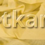 Ситец (ВНИМАНИЕ!!! ТКАНЬ КАК МАРЛЕВКА, НЕ ПЛОТНАЯ, ПОЛУПРОЗРАЧНАЯ) г/к (желтый) - Желтая слива (ширина 80 см)