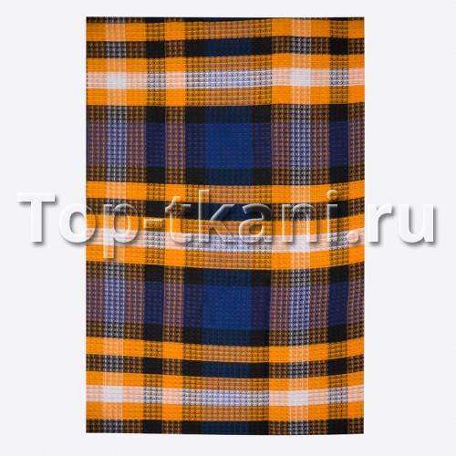 Лоскут Вафельное полотно - Полосатая вафелька (70 см * 95 см)