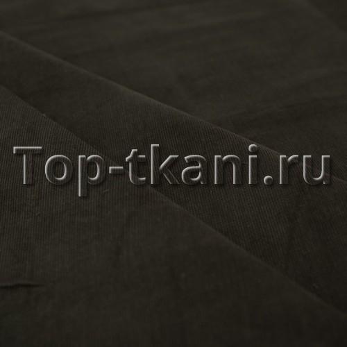 Лоскут Вельвет мелкий рубчик - Хаки (100 см * 150 см)